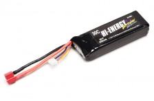 Hi-Energy 3S 2550mAh 30C HV Li-Po