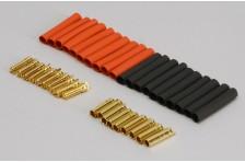 Gold Stecker 4mm H.Duty (10 Paar)