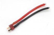 T-Stecker mit 10cm Kabel 3,3mm²