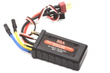 30A Waterproof Brushed ESC w/BEC