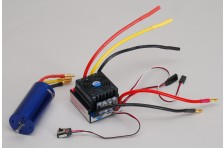 Brushless ESC/Motor Kombo XT2e/Rail