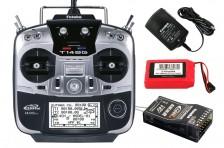 FUTABA T14SG 2.4GHz + R7008SB + LiPo + Ladegerät