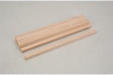 Vierkantholz Buche 12,7x12,7x305mm