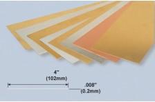 Dünne Platte 0,2x102x254mm