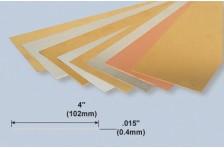 Alu Platte 0,4x102x254mm