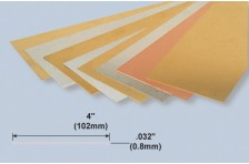 Alu Platte 0,8x102x254mm