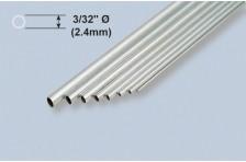 Aluminiumrohr 2,38x1,67x914mm