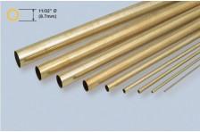 Messingrohr 8,73x8,02x914mm