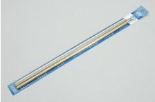 Messingrohr 4,8   5,6 & 6,35x305mm biegb. 0,36mm Wandst.