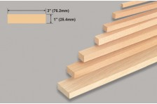Balsa Block 25,4x76,2x914mm