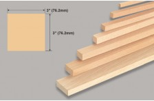 Balsa Block 76,2x76,2x914mm