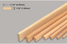 Balsa Leiste 1,59x6,35x914mm