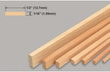 Balsa Leiste 1,59x12,7x914mm