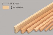 Balsa Leiste 3,18x6,35x914mm
