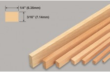 Balsa Leiste 7,14x6,35x914mm