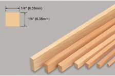 Balsa Leiste 6,35x6,35x914mm