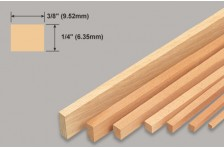 Balsa Leiste 6,35x9,52x914mm