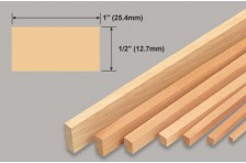 Balsa Leiste 12,7x25,4x914mm