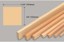 Balsa Leiste 19x19x914mm