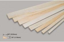 Balsa Endleiste (Profil) 3,18x9,52x914mm