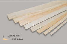 Balsa Endleiste (Profil) 3,18x12,7x914mm