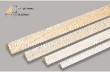 Balsa Dreikantleiste 6,35x914 mm