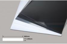 PVC Platte weiß 2,00x660x343mm