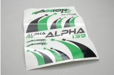 Dekor Set (Grn-Schwarz) Alpha 139 2