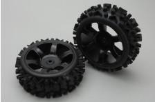 Reifen & Felgen montiert (2Stk)