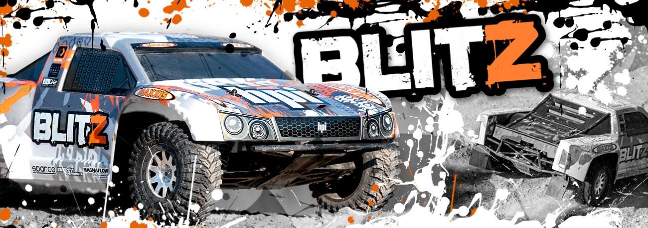 HPI Blitz 1:10 RTR SC Truck