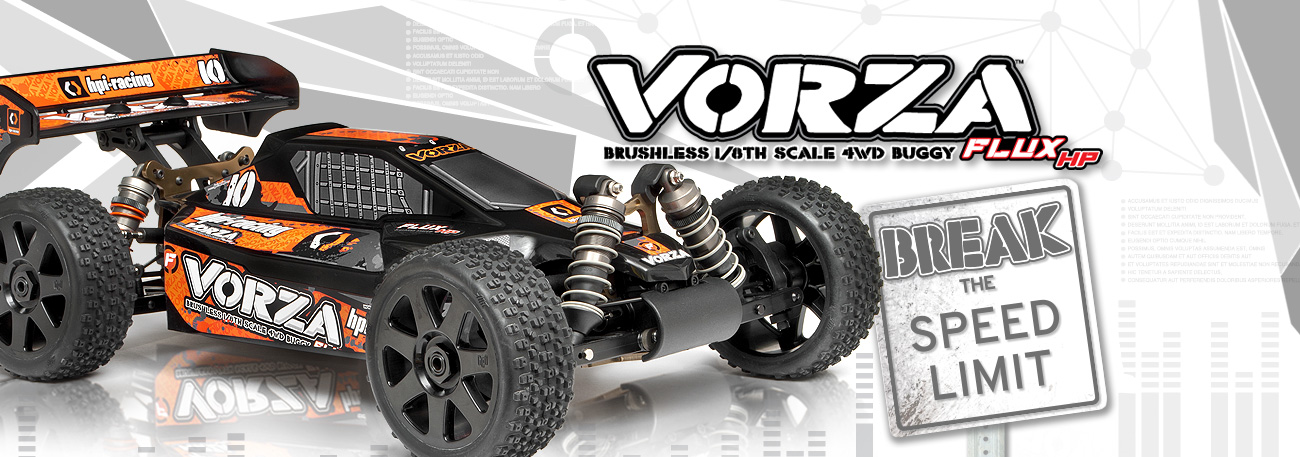 HPI Vorza Flux RTR 1:8 4WD Buggy