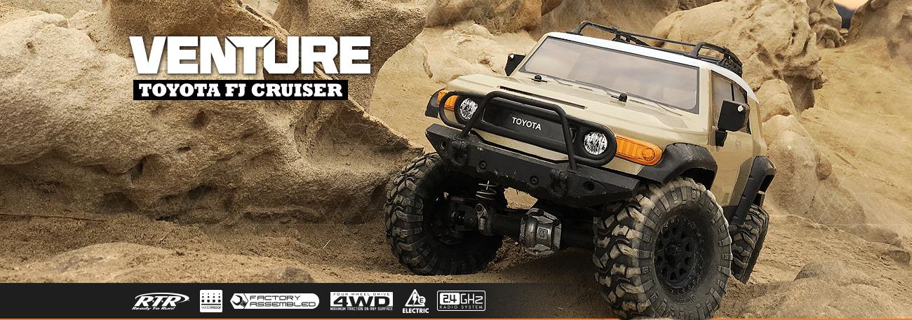 HPI Venture Toyota FJ Cruiser Sandstorm