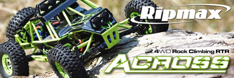 Ripmax Across 1:12 4WD Rock Crawler RTR 2,4GHz