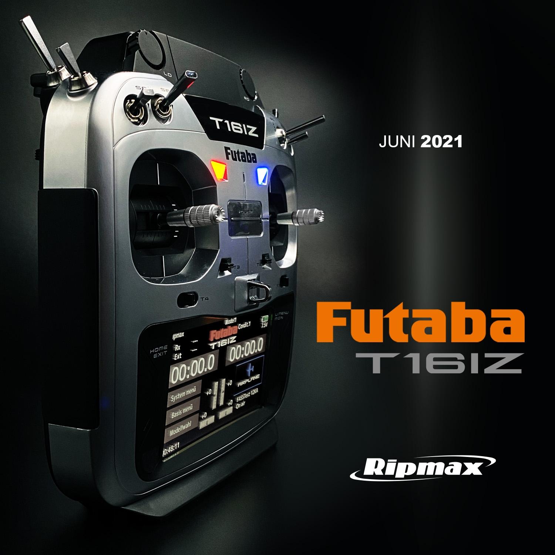 FUTABA T16IZ 2.4GHz + R7108SB + LiPo